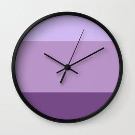 English Lavender Dreams - Color Therapy Wall Clock