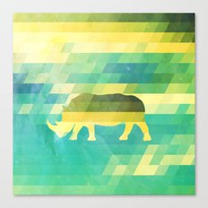 Orion Rhino Canvas Print