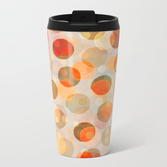 GOLDEN DAYS OF SUMMER Metal Travel Mug