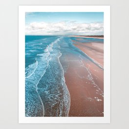ocean adore Art Print