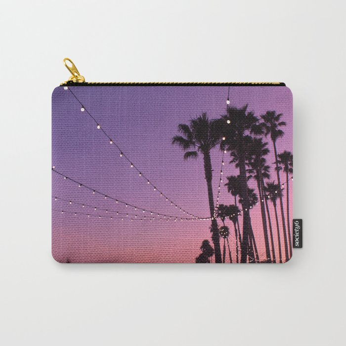 Lit Sunset Carry-All Pouch