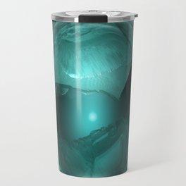 Green Cavern Reflections Travel Mug
