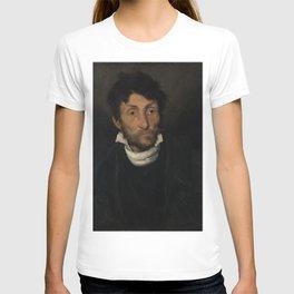 Theodore Gericault - Portrait of a Kleptomaniac T-shirt