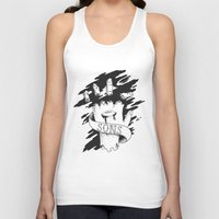 sons of anarchy Tank Tops featuring Sons of Anarchy - Hand by Christiano Mere