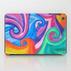 Colorful Swirls iPad Case