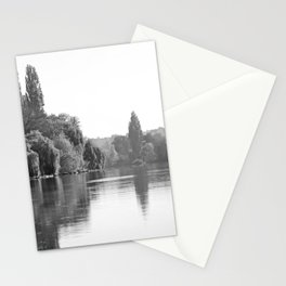 The River Oise at Auvers Stationery Cards