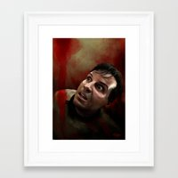 moriarty Framed Art Prints featuring Moriarty by addigni