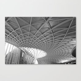 King's Cross Station Canvas Print