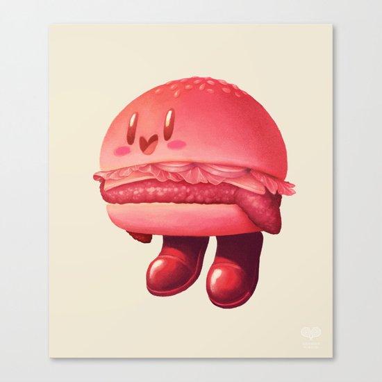 Kirby Patty Canvas Print