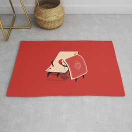 the Brave of Hearts Rug