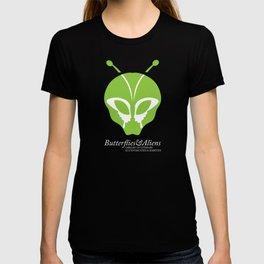 The Butterflies & Aliens Logo T-shirt