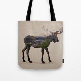 The Alaskan Bull Moose Tote Bag