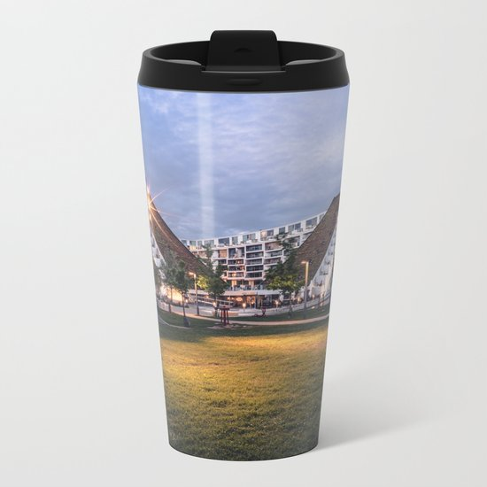 8 House Metal Travel Mug