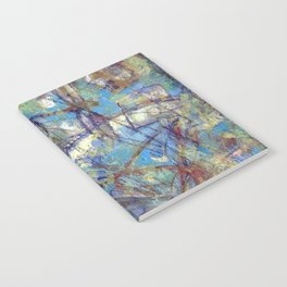 Dragonflies in blue Notebook