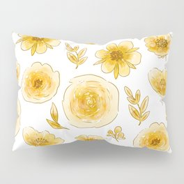 Yellow roses Pillow Sham
