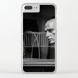 Serious Conversation Clear iPhone Case