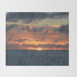 Heavenly Sunset Throw Blanket