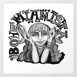 Bohemianista Art Print