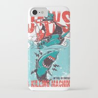 jaws iPhone & iPod Cases featuring Jaws by Tshirt-Factory
