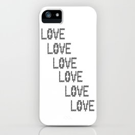 So Much Love to Give 02 iPhone Case