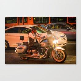 Moto Los Angeles Canvas Print