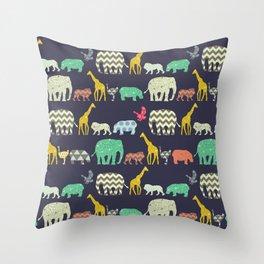 geo zoo Throw Pillow