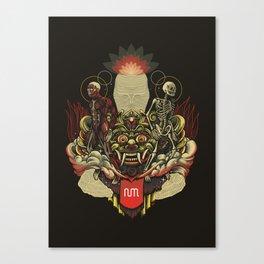 Kāla Canvas Print