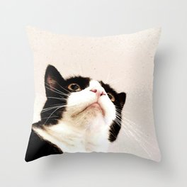 Curiosity and the Scheming That Comes After Throw Pillow