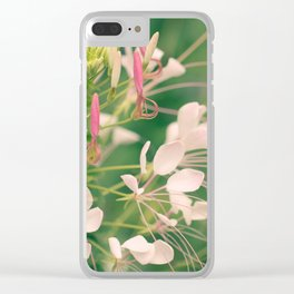 Bee Balm Clear iPhone Case