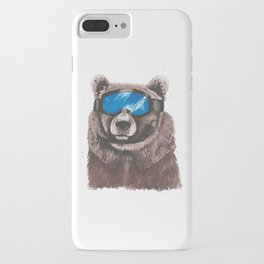 Ski Bum Bear iPhone Case