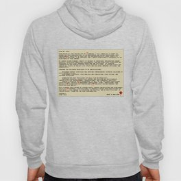 IT Manager Cover Letter Hoody