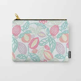 Pastel Fruits Carry-All Pouch