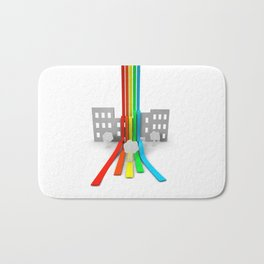 Spectrum in Town Bath Mat