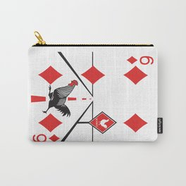 Clipped Wings Deck: The Six of Diamonds Carry-All Pouch