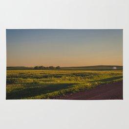 Late July, Golden Valley County, North Dakota Rug
