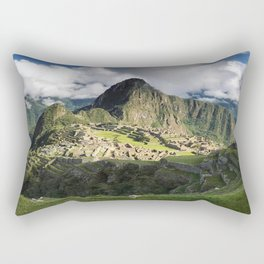 Machu Picchu, Peru Rectangular Pillow