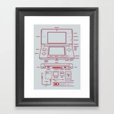 3DS Framed Art Print