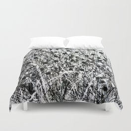 little black Duvet Cover