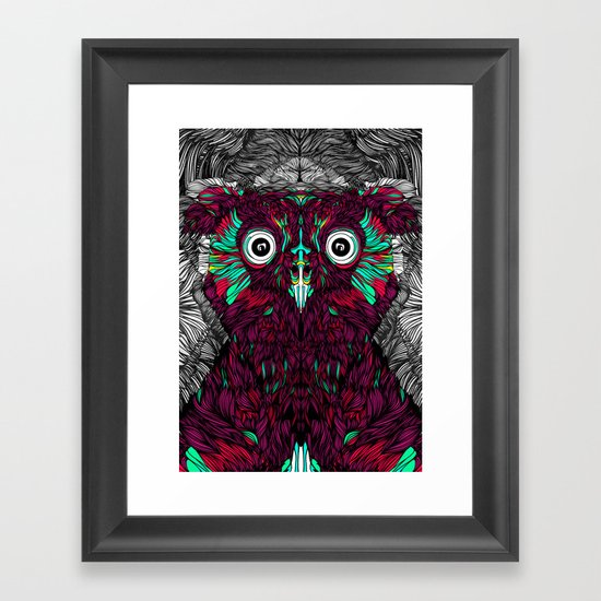 Owl You Need Is Love (Feat. Bryan Gallardo) Framed Art Print
