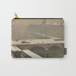 Albert Marquet - Winter by the Seine Carry-All Pouch