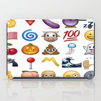 emoji iPad Cases featuring Emoji  by Life.png