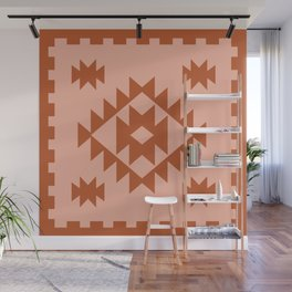 Zili in Peach Wall Mural