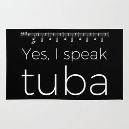 Tuba oompas (black) Rug