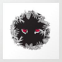 SAVAGE Art Print