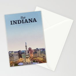 Visit Indiana Stationery Cards