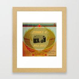 Zorki 4 Framed Art Print