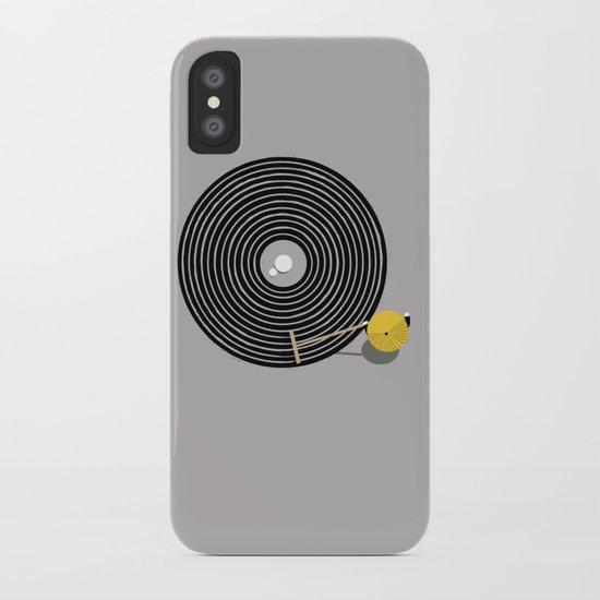 Zen vinyl iPhone Case