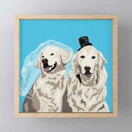 Wedded Bliss Framed Mini Art Print