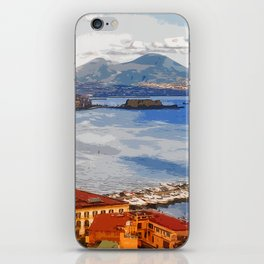 Italy. The Bay of Napoli iPhone Skin