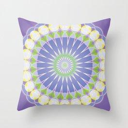 Mandala 117a Throw Pillow